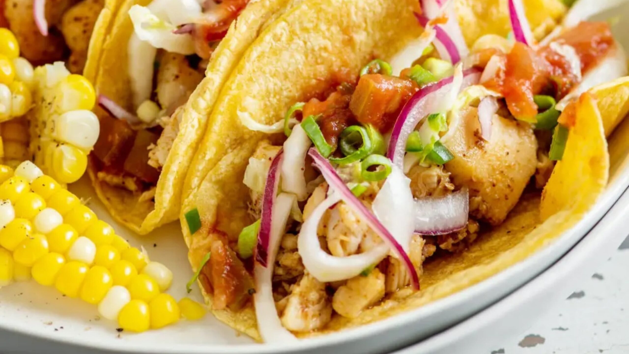 Taco recipe with BC snapper