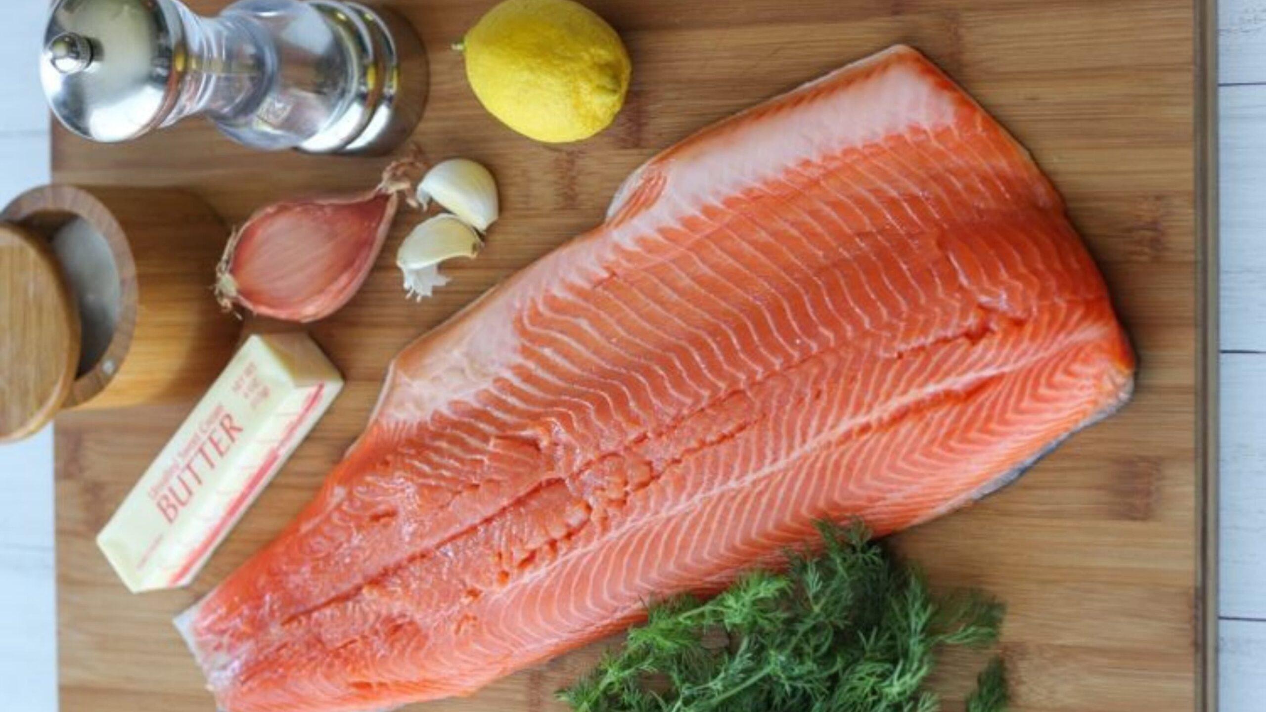Lois Lake steelhead fish feature