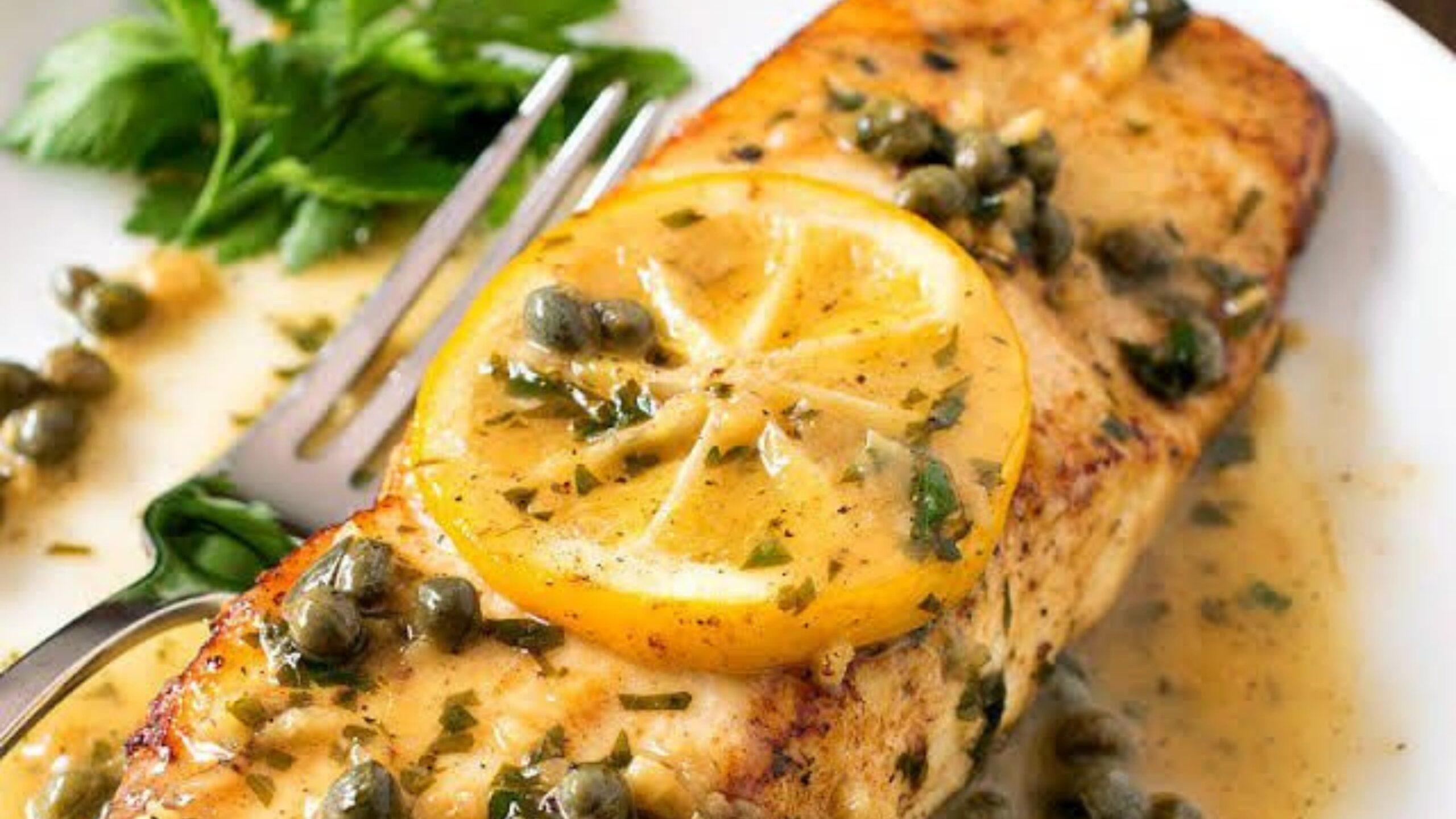 pan-seared halibut recipe image